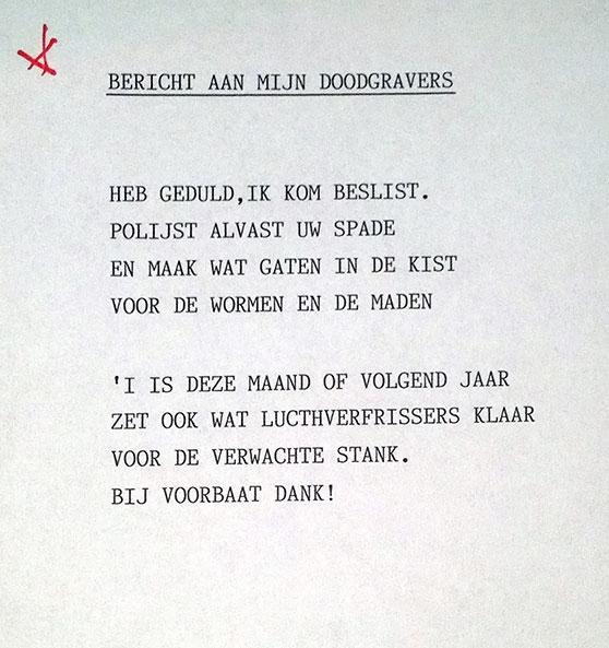 Vaak Hans Dorrestijn @WC13